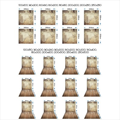Tło 160x400 - materiałowe poliester